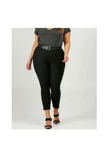 Calça Plus Size Legging Feminina Bengaline Razon Jeans