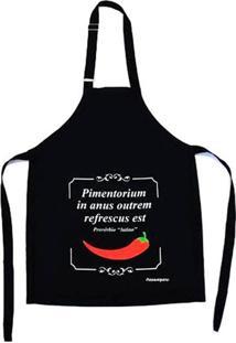 Avental Pimenta 100% Poliéster Passaumpano