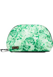 Ganni Clutch Com Estampa Floral - Verde