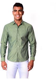 Camisa Pazan Slim Fit Verde