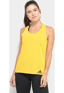 Regata Adidas Cap Chill Tan1 Feminina - Feminino-Amarelo