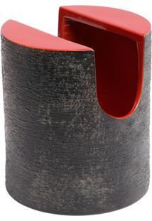 Bitossi Ceramiche Vaso 'Vaso Rosso' - Vermelho