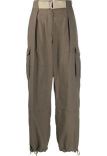 Rag & Bone Drawstring Utility Trousers - Cinza