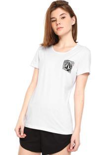Camiseta Volcom Easy Babe Branca
