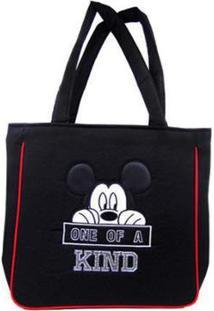 Bolsa Mickey Via Luna Feminina - Feminino-Preto