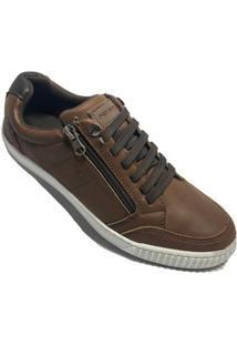 Sapatênis Ped Shoes Casual Masculino - Masculino-Marrom