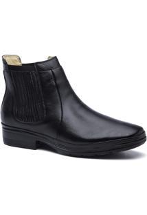 Botina Masculino 3090 Em Couro Floater Doctor Shoes - Masculino