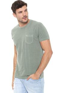 Camiseta Richards Bolso Verde
