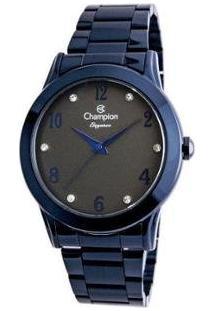 Relógio Feminino Champion Analógico Elegance - Cn26751A - Feminino-Azul