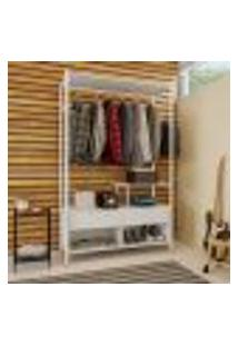 Guarda-Roupa Closet Modulado Olvan Branco