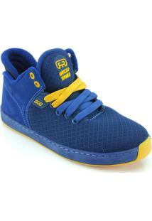 Tênis Hocks Formiga Pro - Masculino-Azul+Amarelo