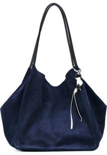 Proenza Schouler Bolsa Tote De Couro - Azul