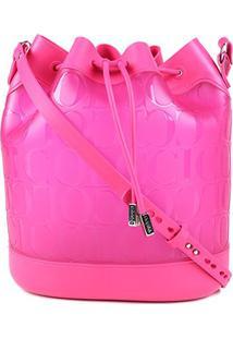 Bolsa Colcci Saco Nova York Feminina - Feminino-Rosa+Pink