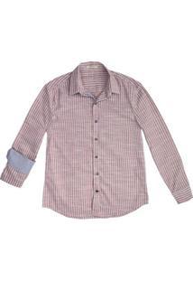 Camisa Masculina Estampada Em Algodão Hering