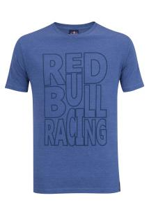 Camiseta Red Bull Racing Color - Masculina - Azul Escuro