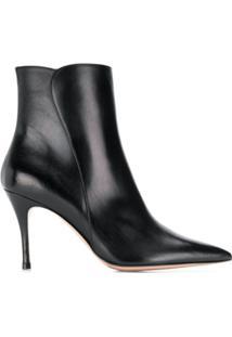 Roberto Festa Heeled Else Ankle Boots - Preto