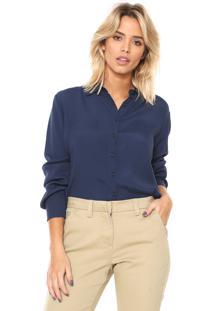 Camisa Forum Mullet Azul-Marinho