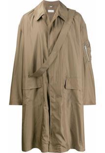 Random Identities Trench Coat Oversized - Neutro