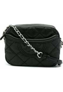 Tory Burch Bolsa Tiracolo Fleming Soft - Preto