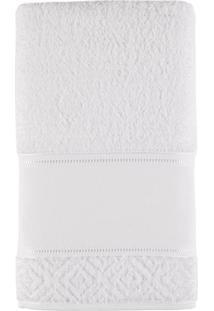 Toalha De Banho 100% Algodão 70X140 Provence - Teka - Branco