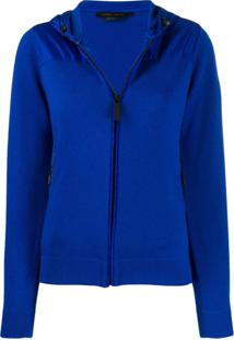 Canada Goose Zipped Hooded Cardigan - Azul