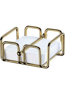 Porta Guardanapos Pequeno 1193-Future - Dourado