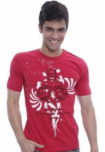Camiseta Oitavo Ato Eight Masculina - Masculino-Vermelho