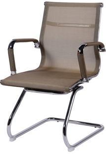 Cadeira Office Eames Em Tela- Cobre & Prateada- 89X5Or Design