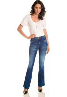 Calça Jeans Zait Flare Jamy Feminina - Feminino