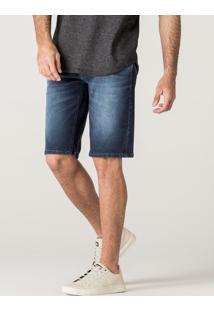 Bermuda Jeanskhelf Masculina Jeans Azul