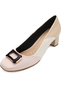 Sapato Lady Queen Am18-19019 Branco