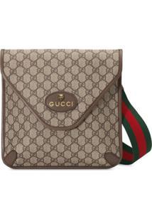 Gucci Bolsa Messenger Neo Vintage Gg Média - Neutro