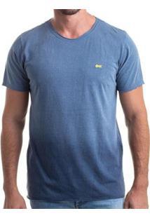 Camiseta Clothis Gradient Relax Degradê Masculina - Masculino-Azul Claro