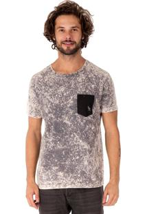 Camiseta Side Walk Camiseta Marble Cinza