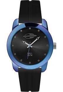bb9f78e9a74 Relógio Digital Preto Silicone feminino