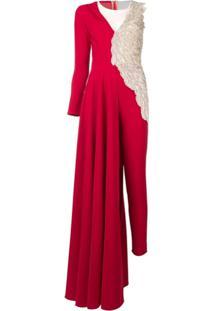 Loulou Angel Jumpsuit - Vermelho