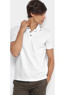Camisa Polo Jab Piquet Friso Masculina - Masculino
