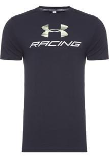Camiseta Masculina Ua Racing Pack Ss - Preto
