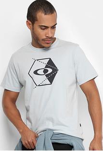 Camiseta Oakley Court Tee Estampada Masculina - Masculino