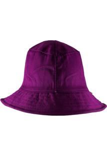 Chapéu Rich Young Bucket Roxo Liso