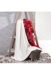 Manta Cobertor King Sherpa Lã De Carneiro + Flannel Imperial - Tessi