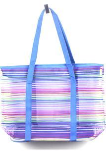 Bolsa De Praia Emporio Naka Colors Azul