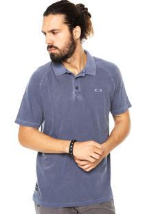 Camisa Polo Oakley Recent Azul