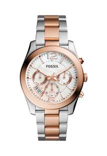 55ec67b2752 Off Premium. Relógio Premium Boyfriend Feminino Fossil Perfect