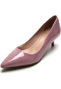 Scarpin Dafiti Shoes Verniz Roxo
