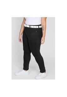 Calça Jeans Hering Skinny Lisa Preta