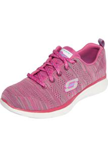 Tênis Skechers Equalizer First Rate Rosa