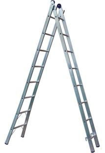 Escada Extensível 2X8 16 Degraus - Unissex