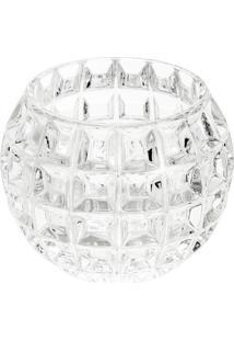 Vaso Rose Em Cristal- Cristal- 9X10,5Cm- Rojemacrojemac