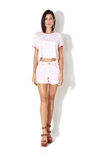 Bermuda Sarja Confort Collor Neon Jeans